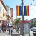 【サンフランシスコ】レインボーフラッグで彩られたジェンダーレスタウン @カストロ・ストリート
